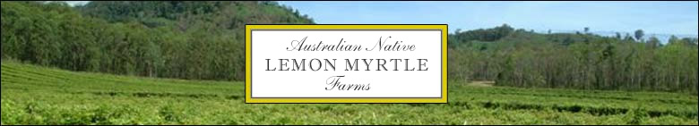Australian Native Lemon Myrtle [header graphic]